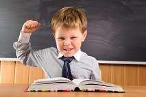 Defiant Boy in class