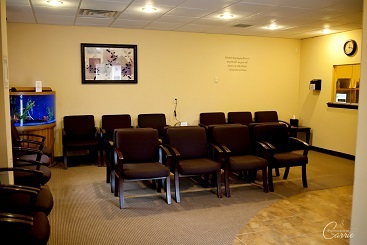 Family Counseling waiting room in Cape Girardeau office